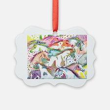 horses of color Ornament
