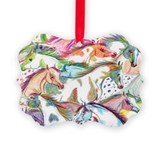 Horses Picture Frame Ornaments