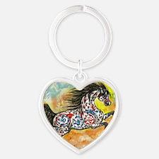 windwalker1 Heart Keychain