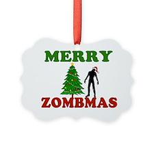MERRY ZOMBMAS Ornament