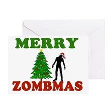 MERRY ZOMBMAS Greeting Card