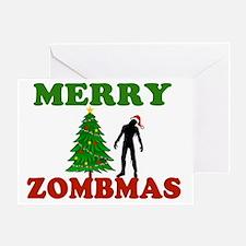 MERRY ZOMBMAS Greeting Card