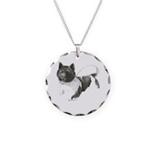 Akita-1-drawing.tif Necklace