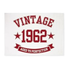 1962 Vintage Aged to Perfection 5'x7'Area Rug