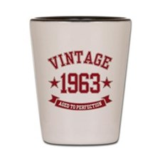 1963 Vintage Aged to Perfection Shot Glass