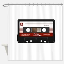 Cassette Tape Shower Curtain