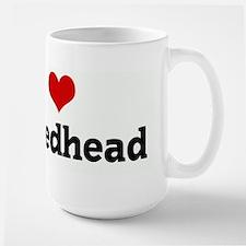 I Love My Redhead Mugs