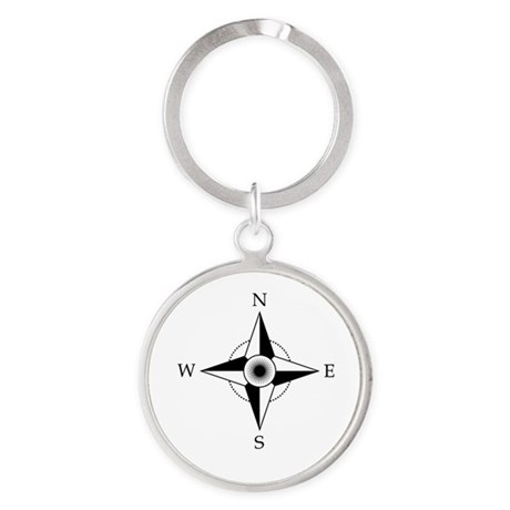 Compass Rose Keychains