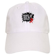Blood Cancer Kick Butt Baseball Cap