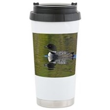 Loon reflection Travel Mug