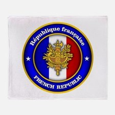 French Medallion Throw Blanket