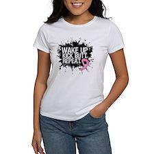 Breast Cancer Kick Butt Tee
