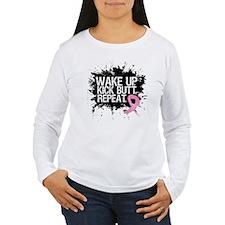 Breast Cancer Kick Butt T-Shirt