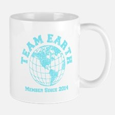 Team Earth : Member since 2014 baby blue Mug