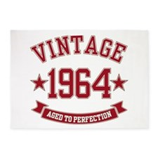 1964 Vintage Aged to Perfection 5'x7'Area Rug