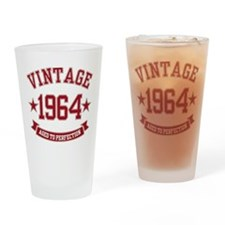 1964 Vintage Aged to Perfection Drinking Glass