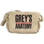 Grey's Faded Messenger Bag