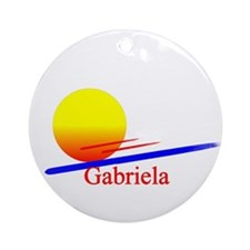 Gabriela Ornament (Round)
