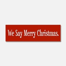 Cute Holidays Car Magnet 10 x 3
