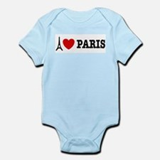 I Love Paris Infant Bodysuit