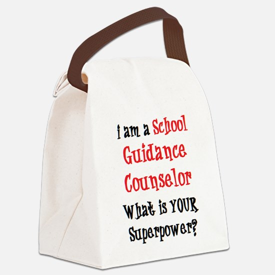 Funny Guidance Canvas Lunch Bag