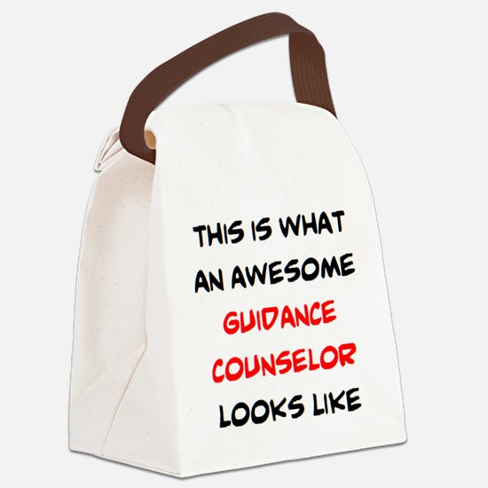 Cute Guidance Canvas Lunch Bag