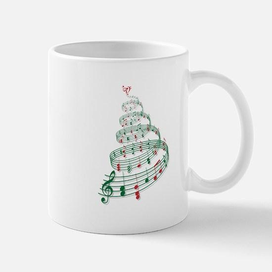 Music Christmas tree Mugs