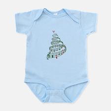 Music Christmas tree Body Suit