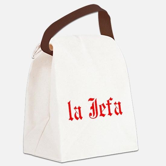 la jefa Canvas Lunch Bag