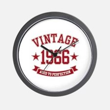 1966 Vintage Aged to Perfection Wall Clock