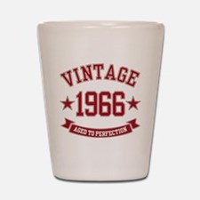 1966 Vintage Aged to Perfection Shot Glass
