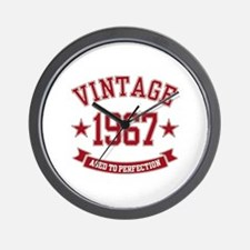1967 Vintage Aged to Perfection Wall Clock
