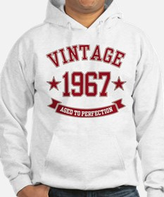1967 Vintage Aged to Perfection Hoodie