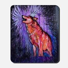 Lupino the Wolfen King Mousepad