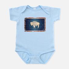 Wyoming State Flag Infant Bodysuit