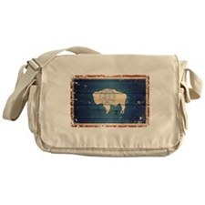 Wyoming State Flag Messenger Bag
