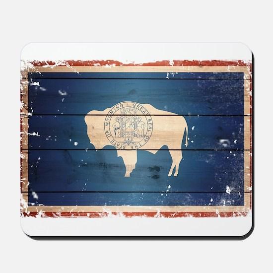 Wyoming State Flag Mousepad