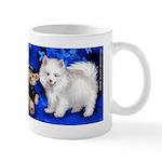 American Eskimo Dog & Toy Mug