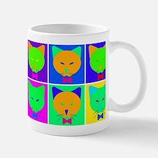 Pop Art Cartoon Cats Mug