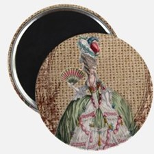 paris marie antoinette vintage fashion Magnet