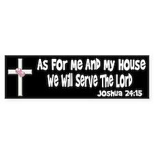 Joshua 24:15 Bumper Stickers