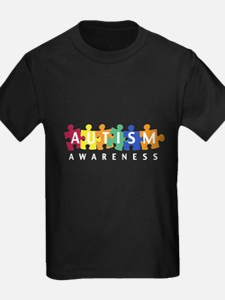 Autism Awareness Puzzle - T
