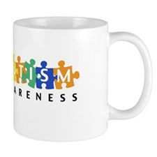 Autism Awareness Puzzle - Mug