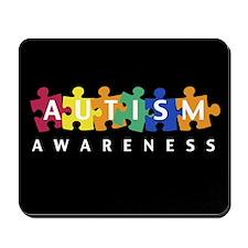 Autism Awareness Puzzle - Mousepad