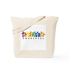 Autism Awareness Puzzle - Tote Bag