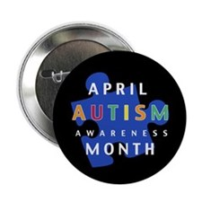 """Autism Awareness Puzzle - 2.25"""" Button (100 pack)"""