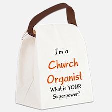 Cute Church Canvas Lunch Bag