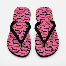 XX Pink Flip Flops