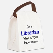 librarian Canvas Lunch Bag