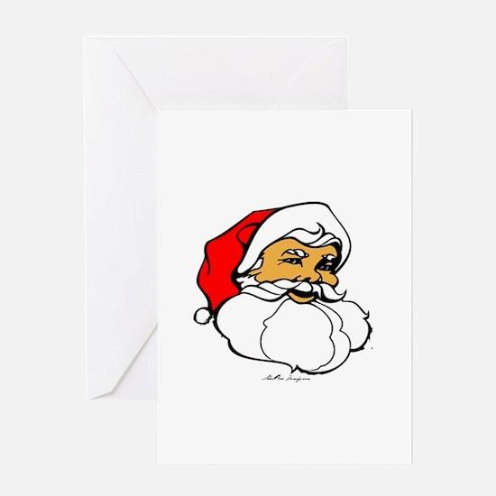 Santa Clause Greeting Cards